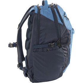 The North Face Surge Backpack dish blue light heather/urban navy